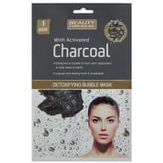 Beauty Formulas Méregtelenítő maszk aktívszínnel Charcoal(Detox ifying Bubble Mask) 1db