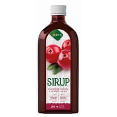 LEROS Sirup Brusinka 250 ml