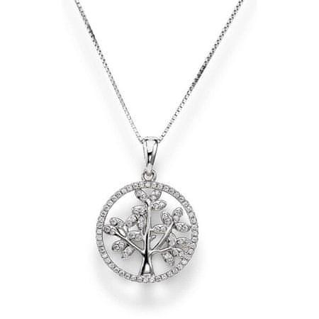Amen Gyönyörű ezüst nyaklánc Tree of Life CLTL2 (lánc, medál) ezüst 925/1000