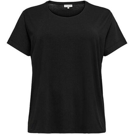 Only Carmakoma Ženska majica CARCARMA KOMA 15198210 Black (Velikost XL/XXL)