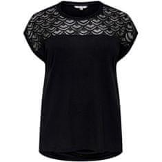 Only Carmakoma Női póló CARFLAKE 15197908 Black