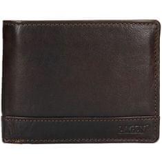 Lagen Pánská kožená peněženka 1996/t DK-BROWN
