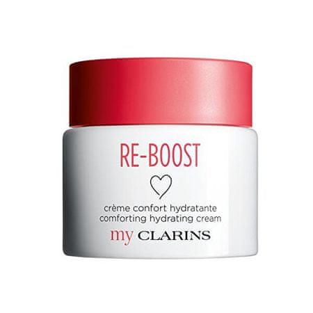 Clarins Arcápoló hidratáló krém száraz bőrre Re-Boost (Comforting Hydrating Cream) 50 ml