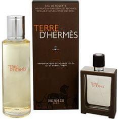 Hermès Terre D`Hermes Eau Intense Vetiver - EDP 30 ml (plnitelný) + náplň 125 ml