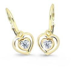 Cutie Jewellery Detské srdiečkové náušnice C2752-10-X-1