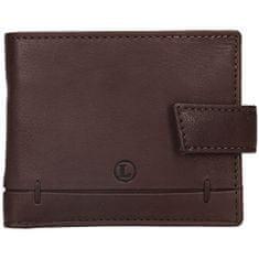 Lagen Pánska kožená peňaženka BLC/4139 BRN