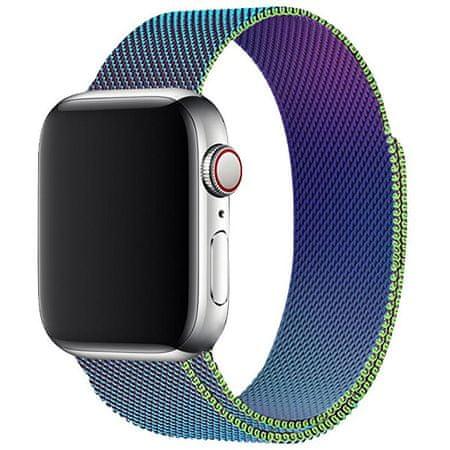 4wrist Milánói acél szíj Apple Watch - Többszínű 42/44 mm