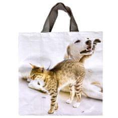 Taška lamino 24 l kočka a pes