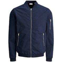 Jack&Jones Pánská bunda JJERUSH 12165203 Navy Blazer