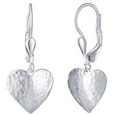 Praqia Rmantikus ezüst fülbevaló Cora NA6096_RH