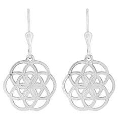 Praqia Egyedi ezüst fülbevaló Sphere NA6022_RH