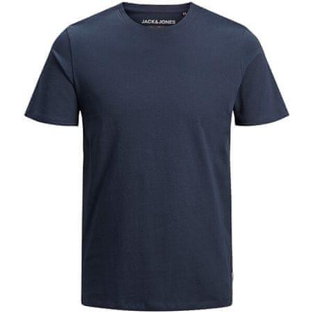 Jack&Jones Férfi póló JJEORGANIC BASIC TEE 12156101 Navy Blazer SLIM (méret L)