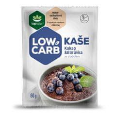 Topnatur LOW CARB kaše kakao & čučoriedka 25 x 60 g