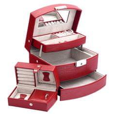 Jan KOS Czerwone pudełko na biżuterię SP-829 / A7