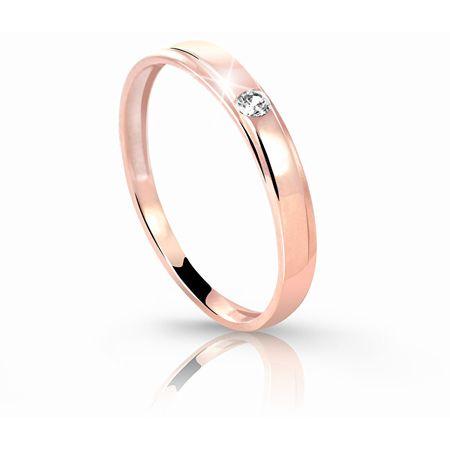 Cutie Jewellery Bájos gyűrű Z6707-1617-10-X-4 (Kerület 50 mm-es) rózsaszín arany 585 /1000
