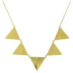 Praqia Aranyozott nyaklánc masszív díszítéssel N6243 ezüst 925/1000