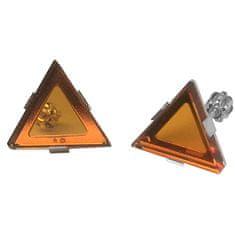 Praqia Exkluzív ezüst fülbevaló by Gabriela Koukalová Triangle NA6271