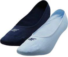 4F Dámské ponožky 4F SOD304 Modré