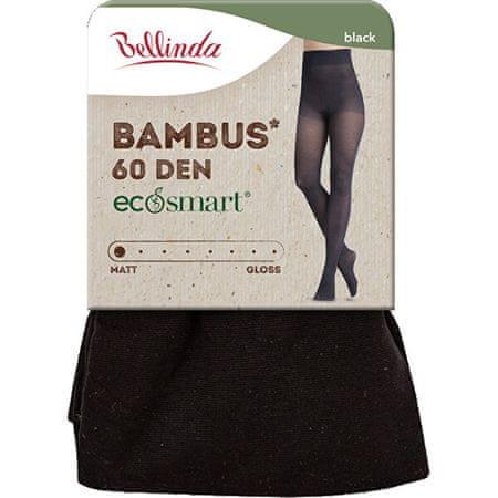 Bellinda Ženske hlačne nogavice Bambus 60 DEN Black BE262009-094 (Velikost M)