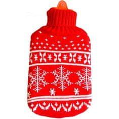 Albert Thermophore pulóverben hópehely