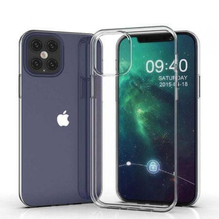 Ovitek za iPhone 12 Pro Max, silikonski, prozoren