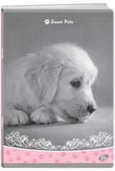 Elisa bilježnica Sweet Pets, A4, linije, 52-listova, 10/1