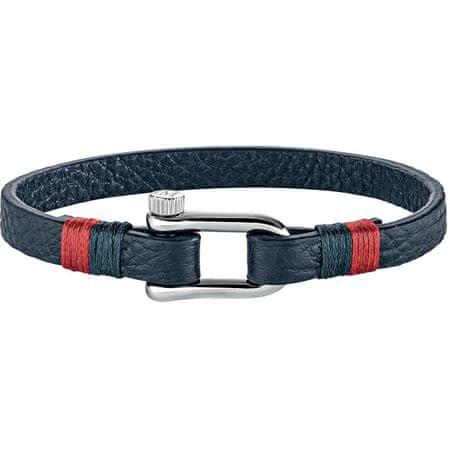 Morellato Vela kék színű bőr karkötő SAJC06