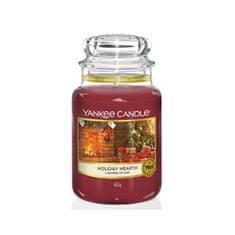 Yankee Candle IllatgyertyaClassic Holiday Hearth 623 g - nagy