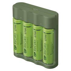 GP Nabíječka baterií GP Everyday B421 + 4× AA ReCyko 2700 + USB