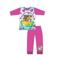 TDP TEXTILES Dievčenské bavlnené pyžamo SCOOBY DOO 5 rokov (110cm)