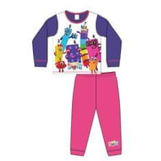TDP TEXTILES Dievčenské bavlnené pyžamo NUMBERBLOCKS 2 roky (92cm)