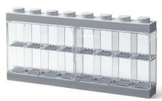 LEGO Sběratelská skříňka na 16 minifigurek - šedá