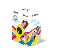 Canon ZOEMINI C fotoaparat z vgrajenim tiskalnikom, rumen + 20 listov papirja za tiskanje