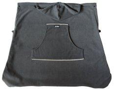 KiBi kapsa fleece / šedá