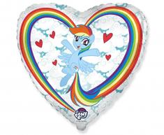 "Anagram Fóliový balón 18"" My little pony - bielý"