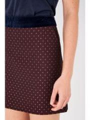 Jack Wills Mini Sukně Barva: Vínová, Velikost: 34
