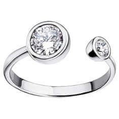 Lotus Silver Elegantní stříbrný prsten s čirými zirkony pro ženy LP1272-3/1 stříbro 925/1000