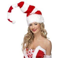 Smiffys Božičkova kapa črtasta