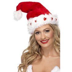 Smiffys Božičkova kapa z lučkami