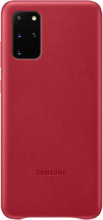 Samsung Galaxy S20 Plus navlaka, koža, crvena (EF-VG985LRE)