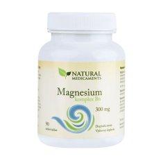 Natural Medicaments Magnesium ( horčík ) B6 komplex 90 tablet
