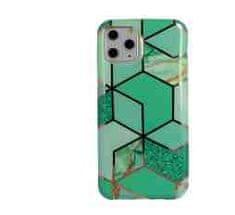 Glam torbica za iPhone 11 Pro, silikon, zelena