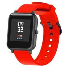 BStrap Xiaomi Amazfit GTS Silicone remienok, Red