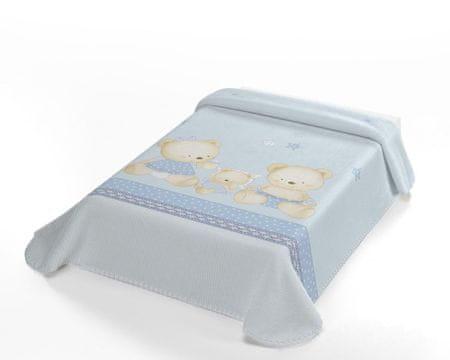 Belpla Baby Pearl ster takaró, 663, 80x110, kék