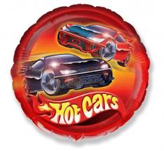 "Anagram Fóliový balón 18"" Hot Cars - červená"