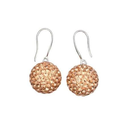 Kraftika Shambala shambala kristály fülbevaló, gyöngy 12, bézs színű