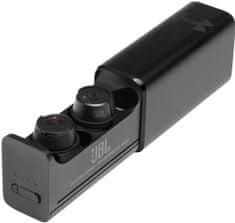 JBL UA Flash X bežične sportske slušalice, crne
