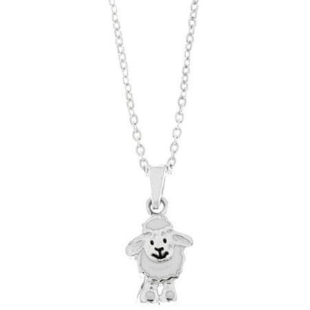 Praqia Gyermek ezüst nyaklánc Birka KO8030_BR030_40 (lánc, medál) ezüst 925/1000