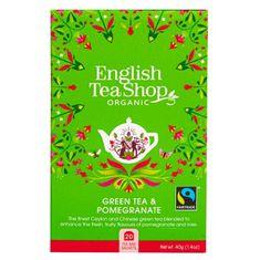 English Tea Shop Zelený čaj s granátovým jablkom 20 sáčkov