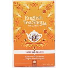 English Tea Shop Kurkuma, zázvor a citronová tráva 20 sáčků